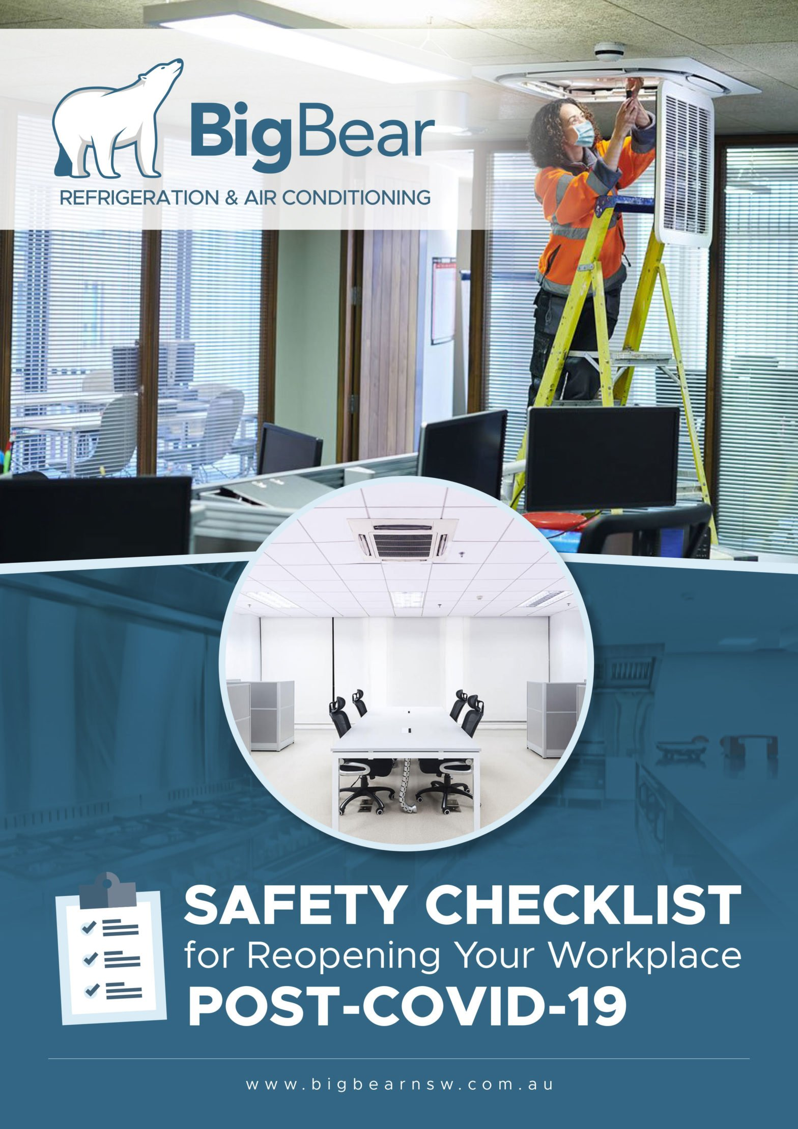 Safety checklist for reopening your workplace
